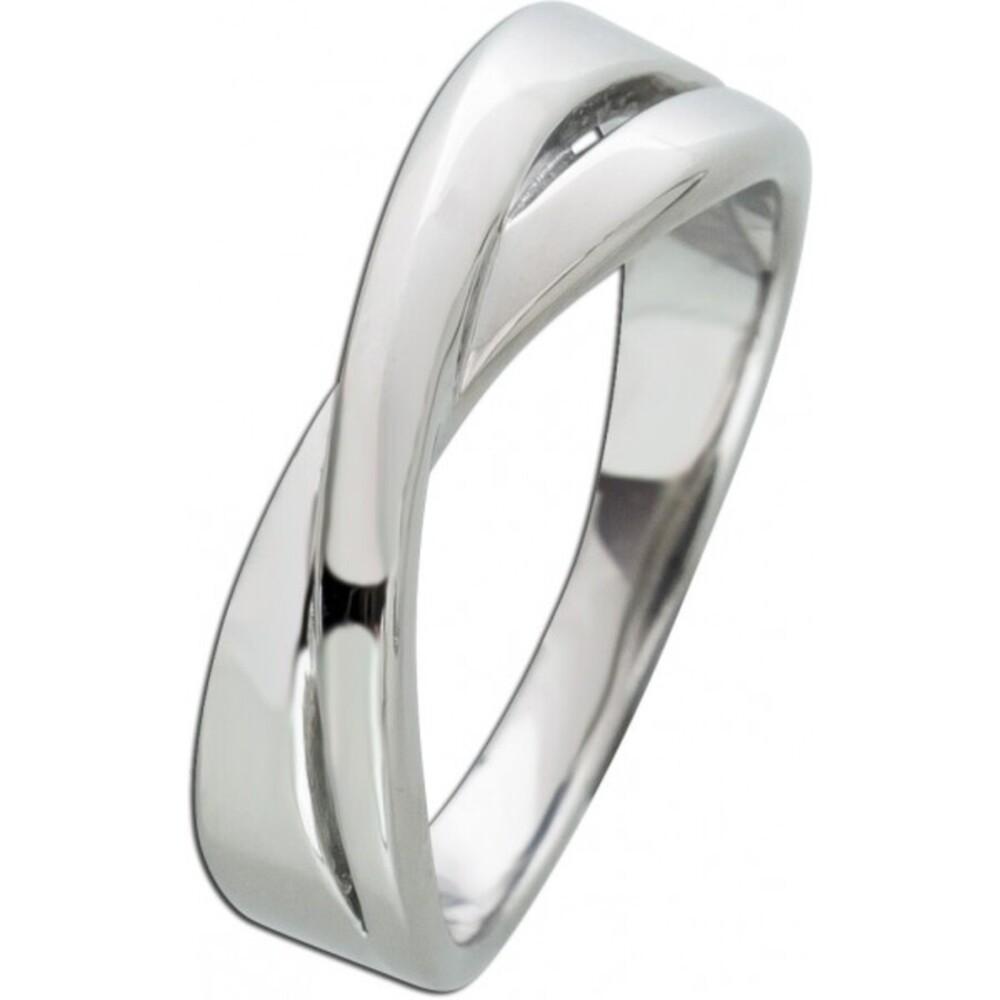Damen X-Ring T-Y Edelstahl poliert Toyo Yamamoto