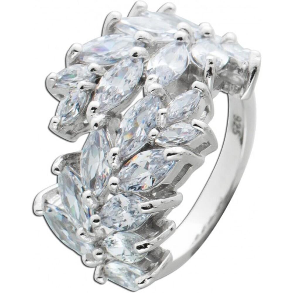Zirkonia Ring Silber 925 Zirkonia Schmuck Damen Ring 1