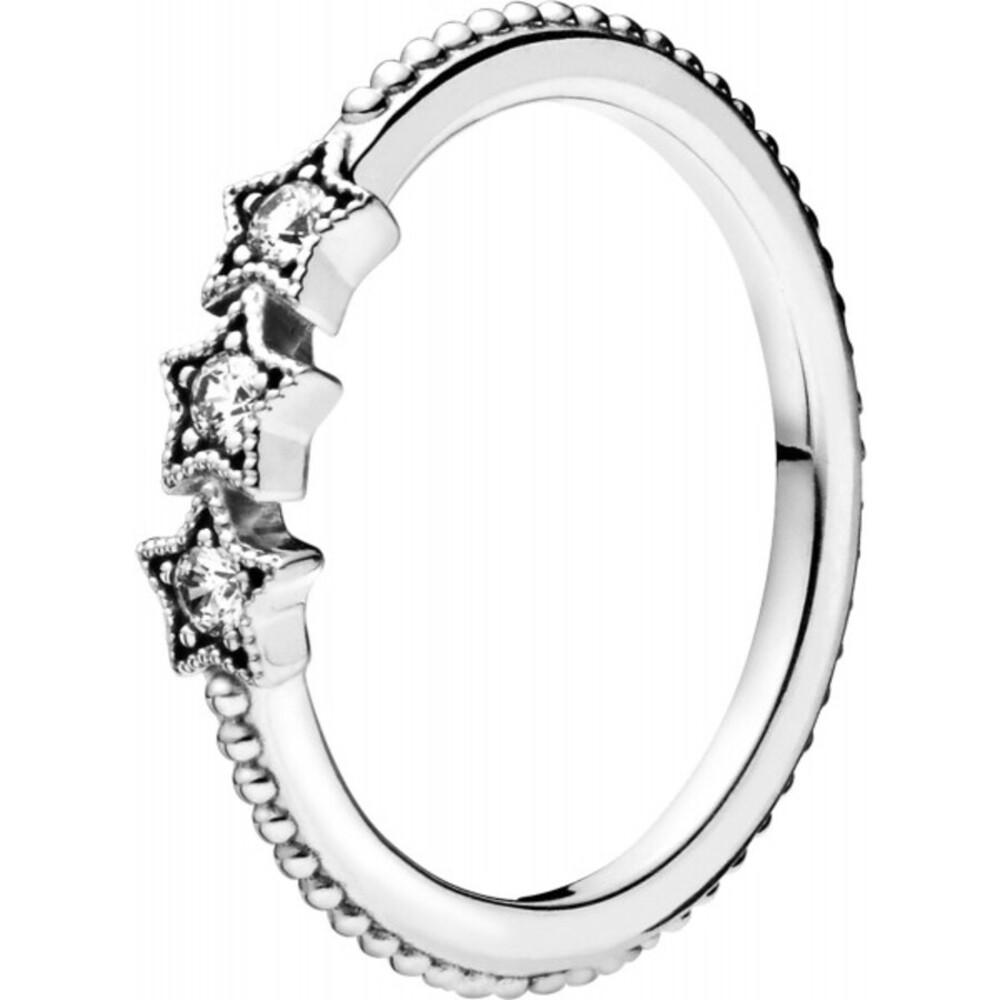Pandora Ring 198492C01 Stackable Celestial Stars
