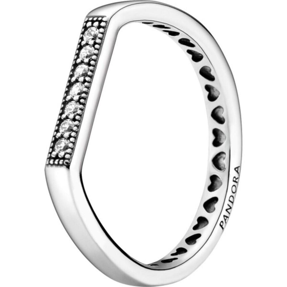 Pandora Ring 199041C01 Sparkling Bar Silber 925