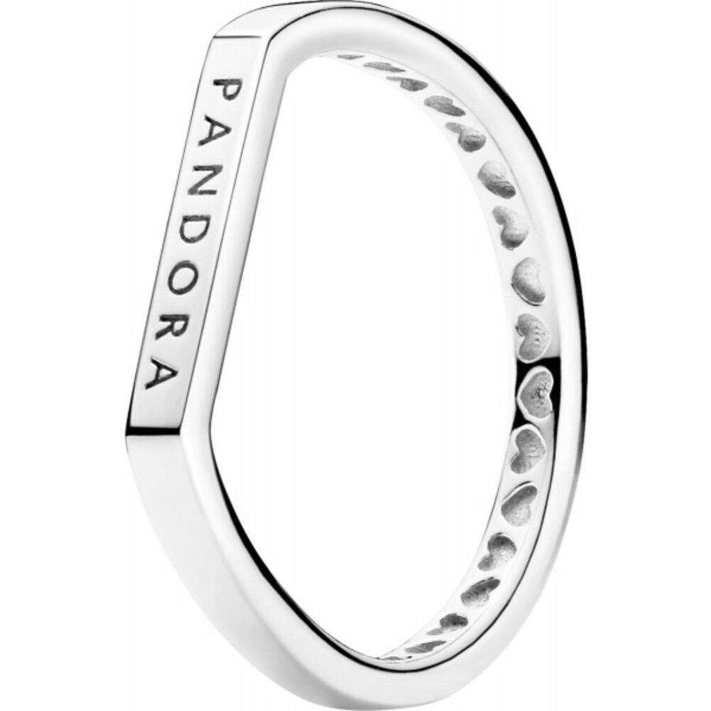 Pandora Ring 199048C00 Logo Bar Silber 925