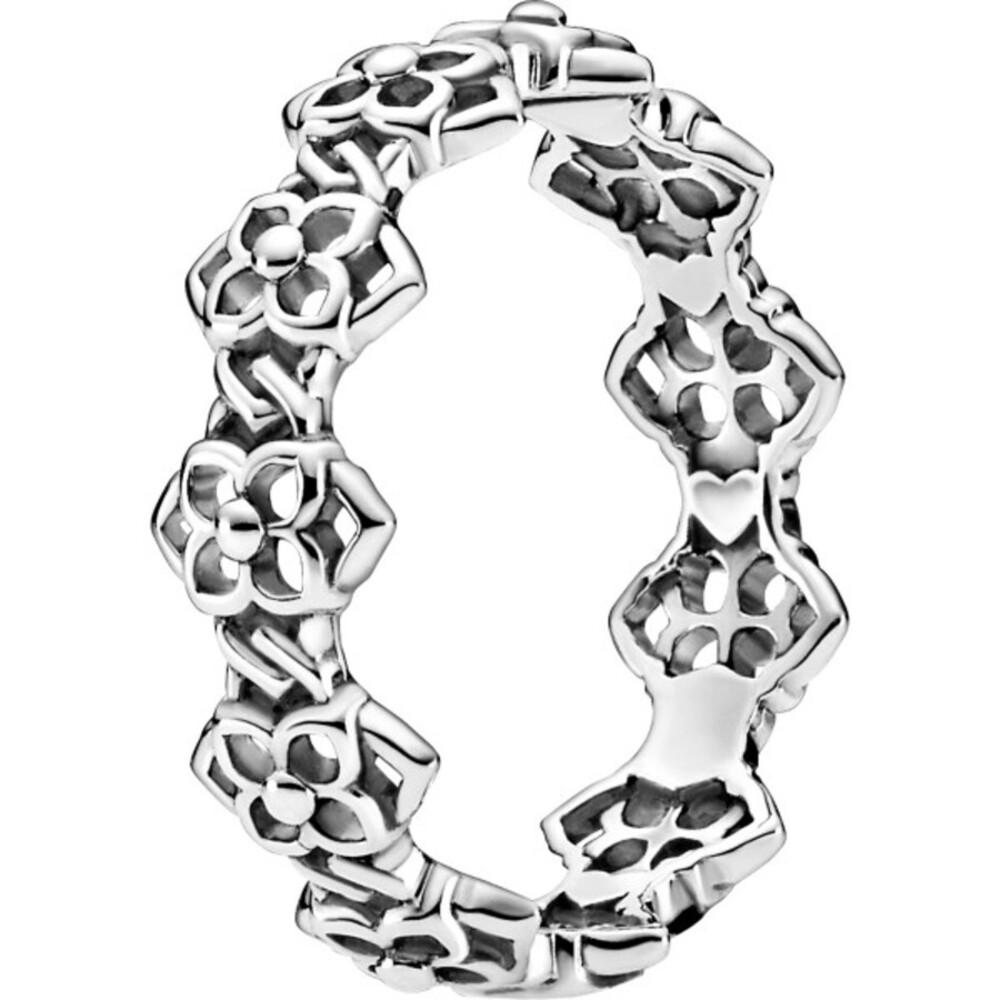 Pandora Timeless Ring 199401C00 Rose Petals Band Ring Silber 925