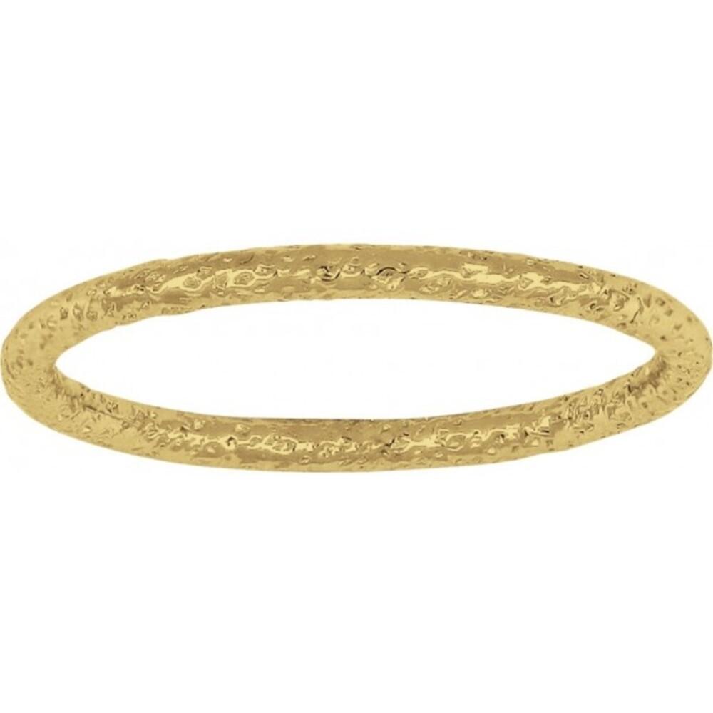 Nordahl Joanli Nor Designer Ring 125325-3 vergoldetes Sterling Silber 925 gebürstete Oberfläche in 17mm 18mm 19mm