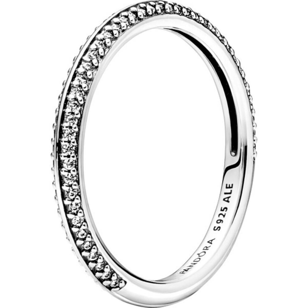 Pandora Me Ring 199679C01 Pave Ring Sterling Silber 925 klare Zirkonia Damenring