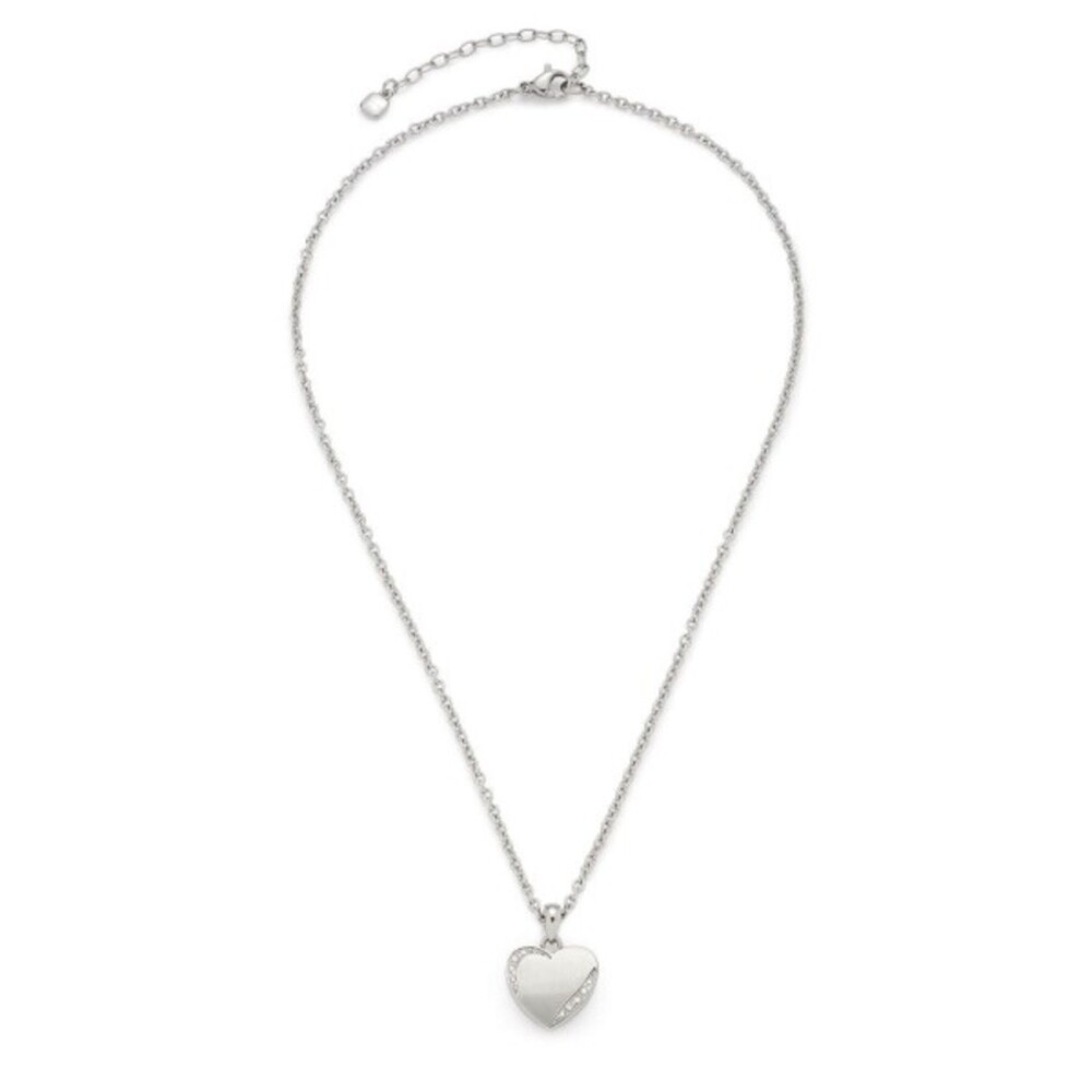 LEONARDO Halskette Grazia 016908 CIAO 40cm Herzanhänger Kristalle Edelstahl