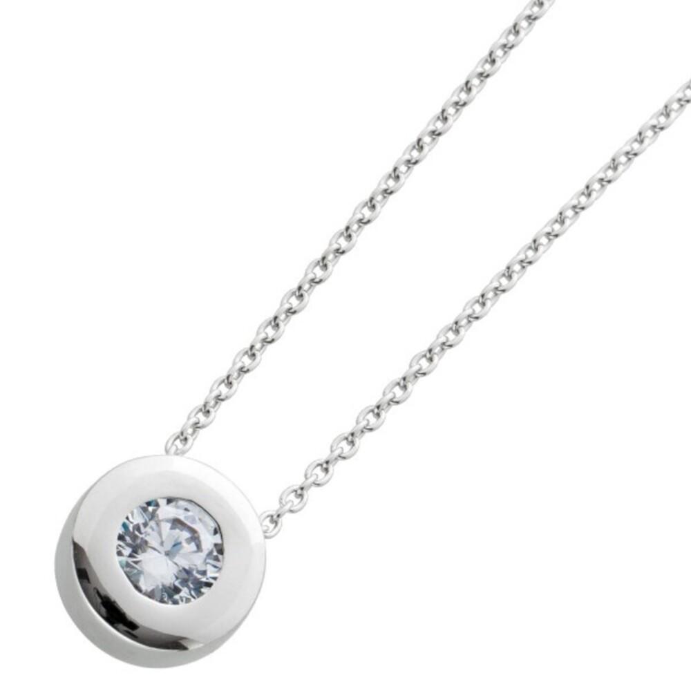 Zirkonia Kette Silber 925 Damenkette Zirkoniaschmuck 1