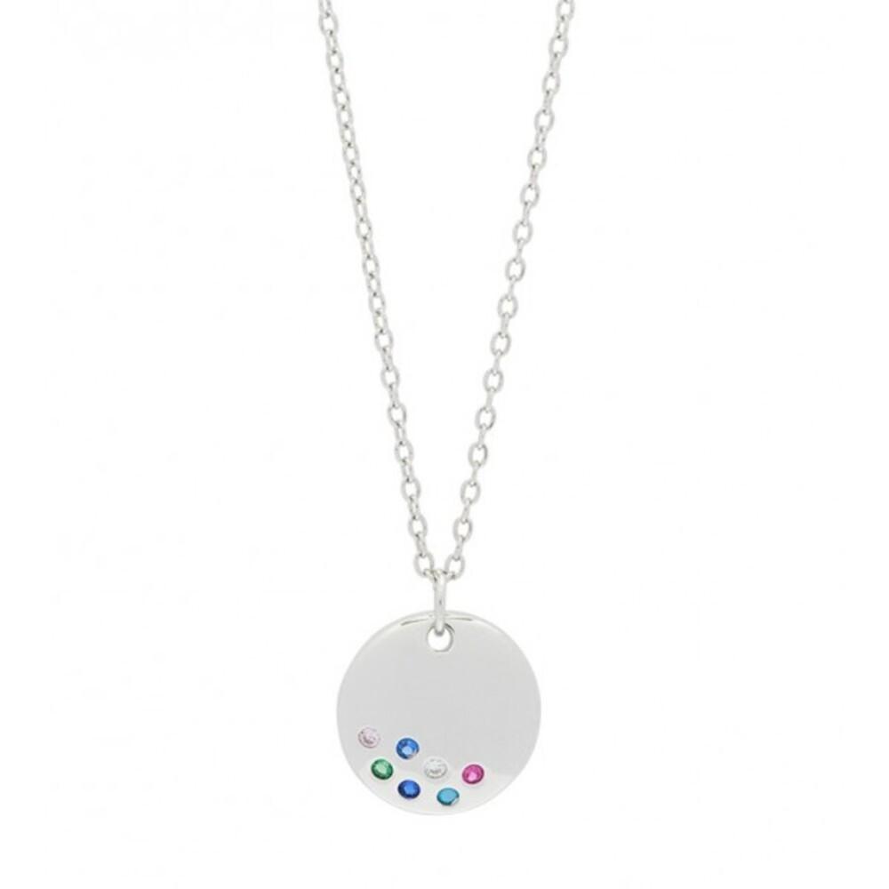 JOANLI NOR Halskette ELINORANOR 245 128 Silberkette Silber rhodiniert, 42+3cm