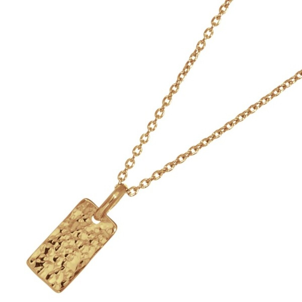 Nordahl Joanli Nor Halskette 825 765-3 Two-sided52 Silber 925 Vergoldet 45+5cm Länger