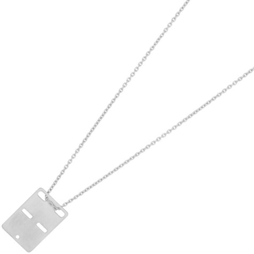 Nordahl Joanli Nor Halskette 825 792 Hey52 Rhodiniertes Sterling Silber 925 45+5cm