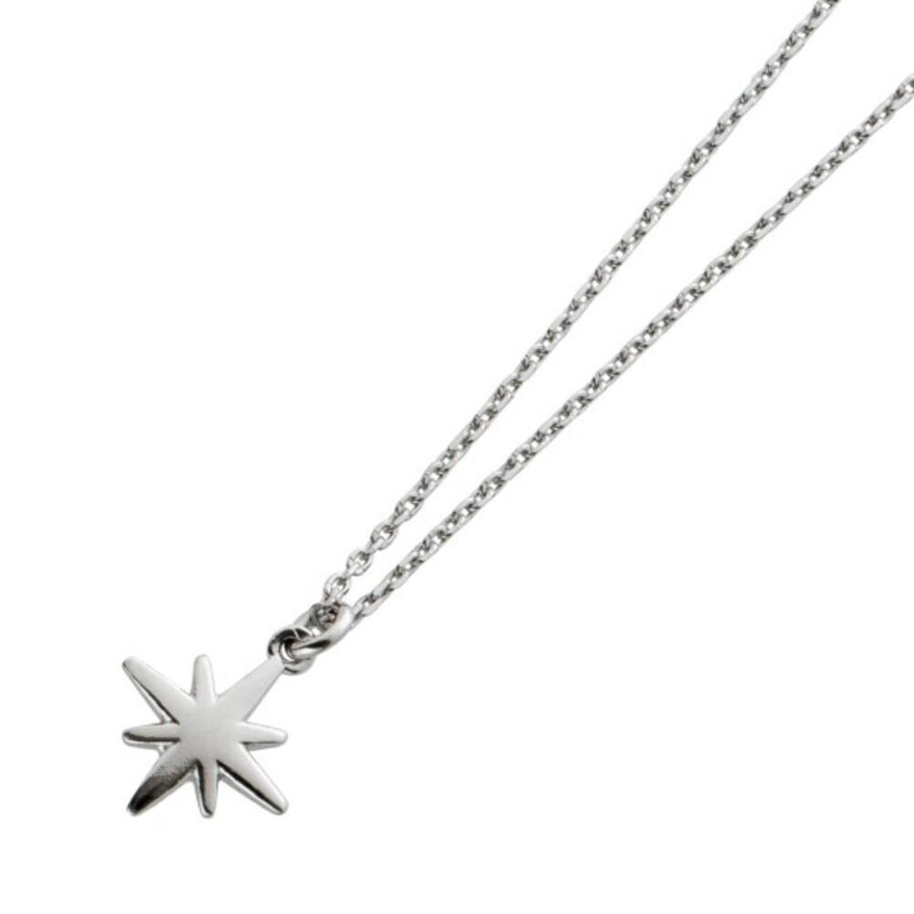 Kette Ankerkette mit Sternanhänger Silber 925 42+3cm