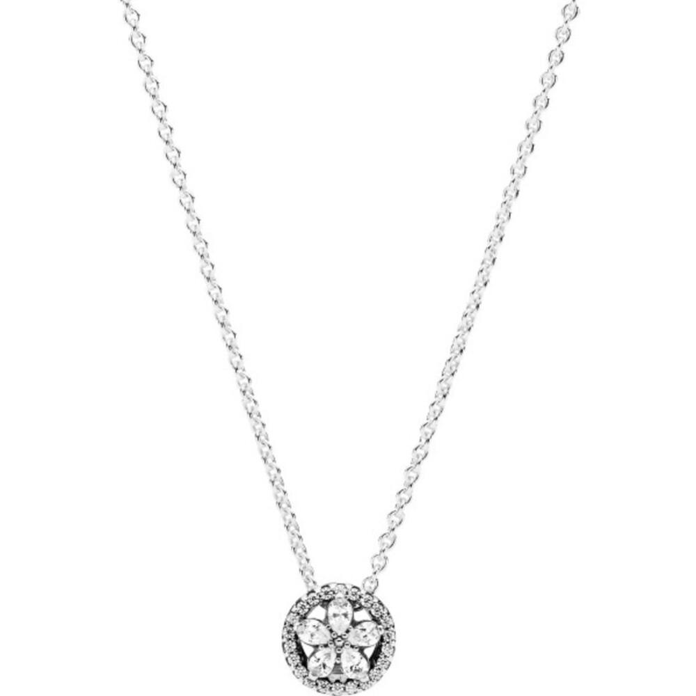 Pandora Halskette 399230C01-45 Sparkling Snowflake Collier 45cm Silber 925 clearcubic zirconia