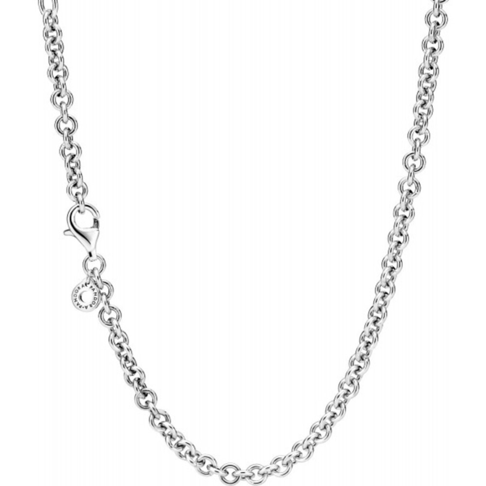 Pandora Moments Halskette 399564C00-45 Thick Cable Chain 45cm Sterling Silber 925