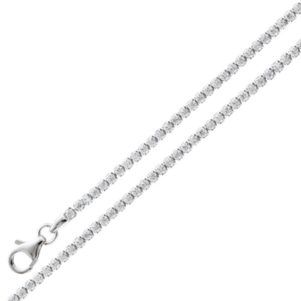 Tennisarmband Rivierearmband -  Silber 925/- Zirkonia weisse 1