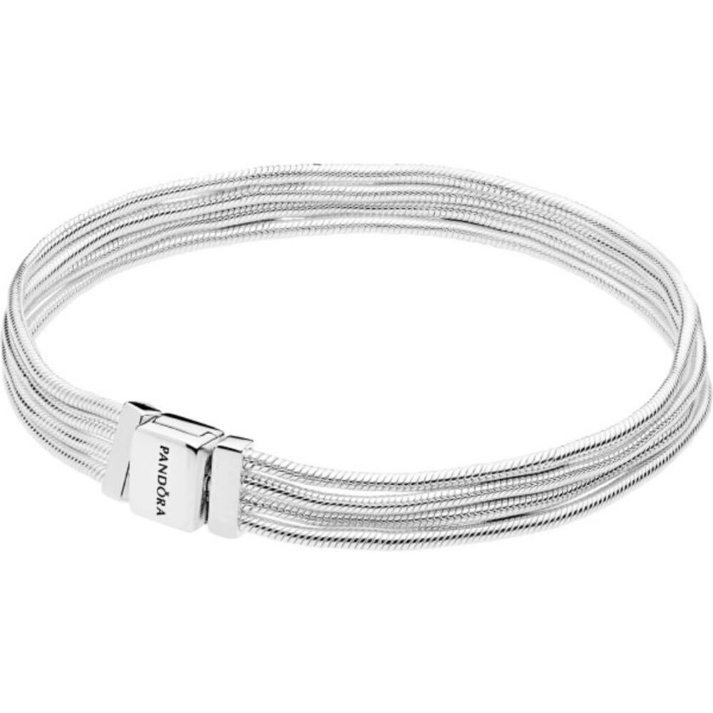 PANDORA REFLEXIONS Armband 597943 Multi Schlange Sterling Silber 17-19cm