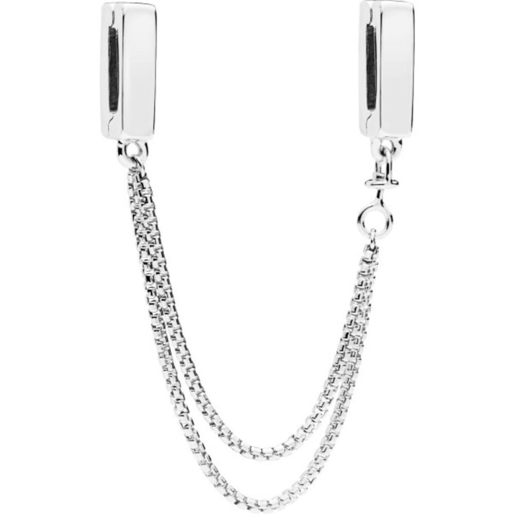 PANDORA REFLEXIONS Sicherheitskette 797601 Floating Chain 5cm Länge Sterling Silber