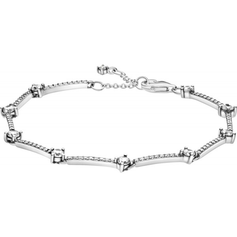 Pandora Armband 599217C02 Sparkling Pave Bars Silber 925 clear cubic zirconia