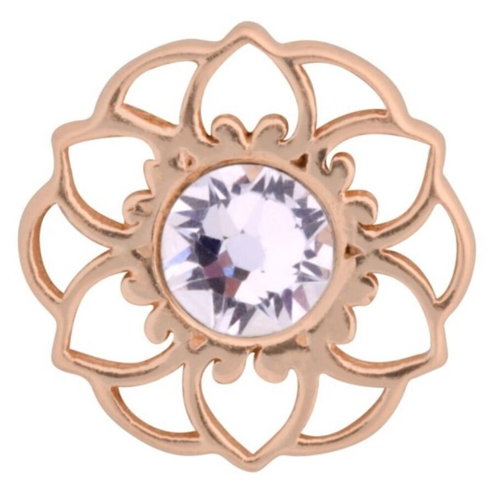 Medusa Piercing Bioplast Sterling Silber 925 Aufsatz Mandala Flower rose vergoldet