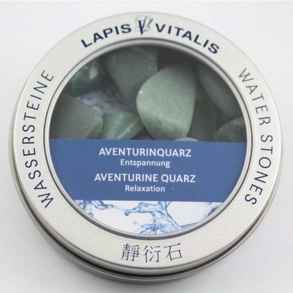 Aventurin-Quarz Wasserstein Mischung (Entspannung) Lapis Vitalis Edelstein Wasser-Set