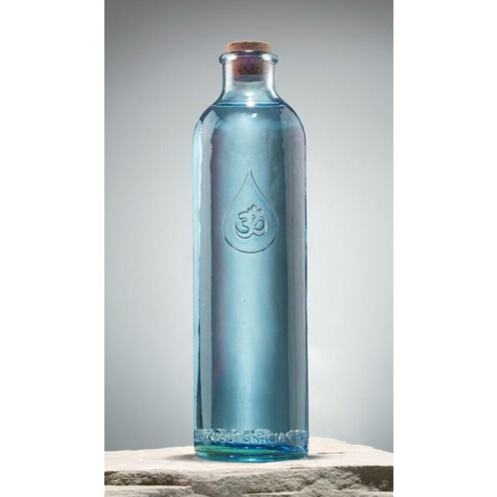 OmWater Glasflasche Karaffe Berk W-360 Wasserflasche 1,2 Liter Höhe 30cm