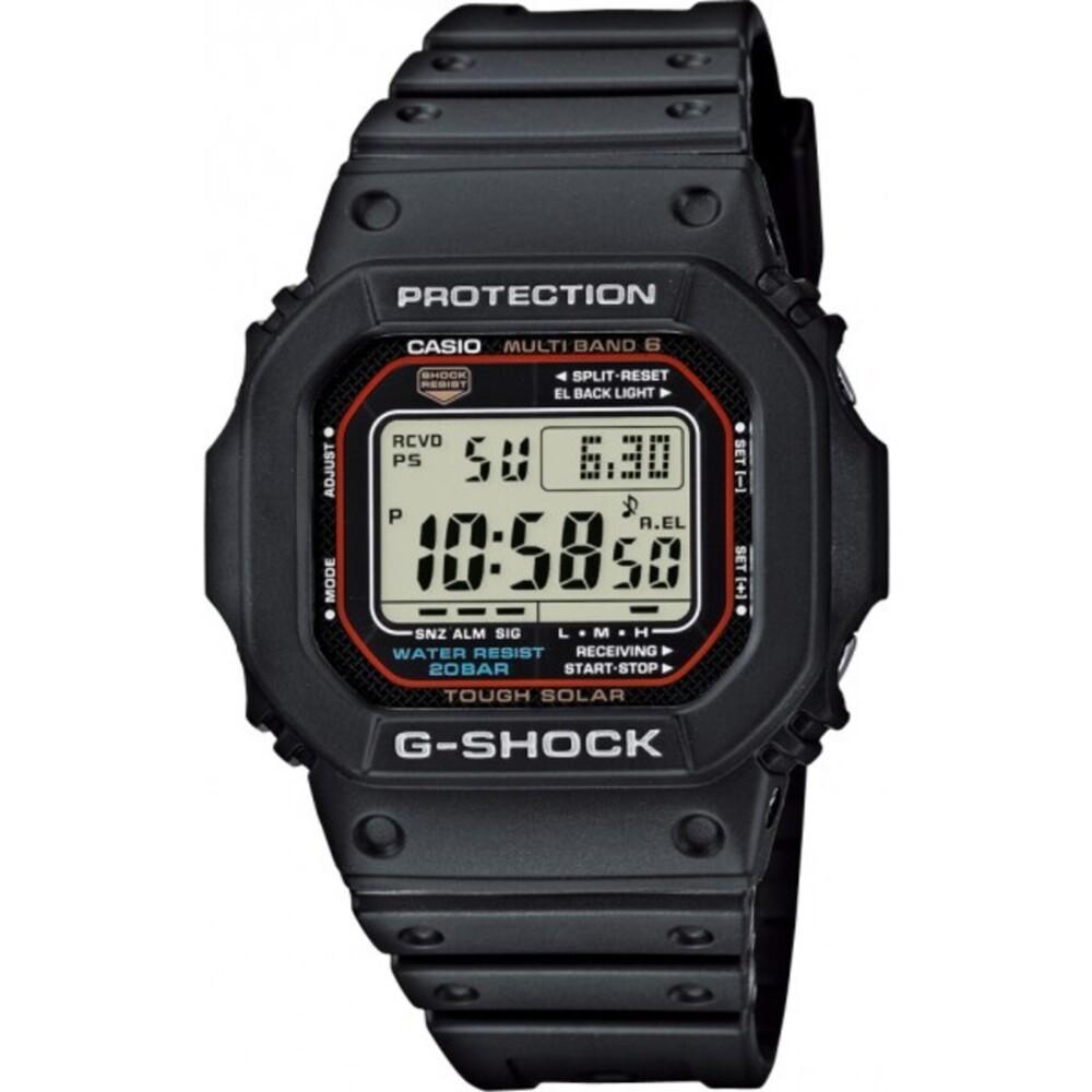 CASIO Herrenuhr GW-M5610-1ER Funk Solaruhr G-Shock Digital schwarzes Gehäuse