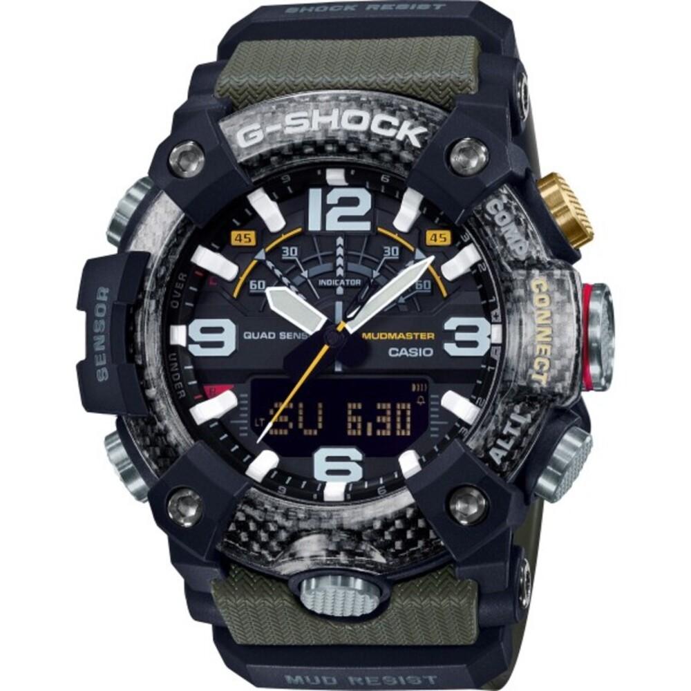 CASIO Herrenuhr GG-B100-1A3ER G-Shock Bluetooth Kompass Höhenmesser Thermometer Barometer PREMIUM