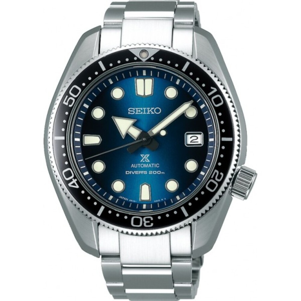 SEIKO Herrenuhr Prospex SPB083J1 SEA Diver Great Blue Hole Automatik 20bar Special Edition 1968