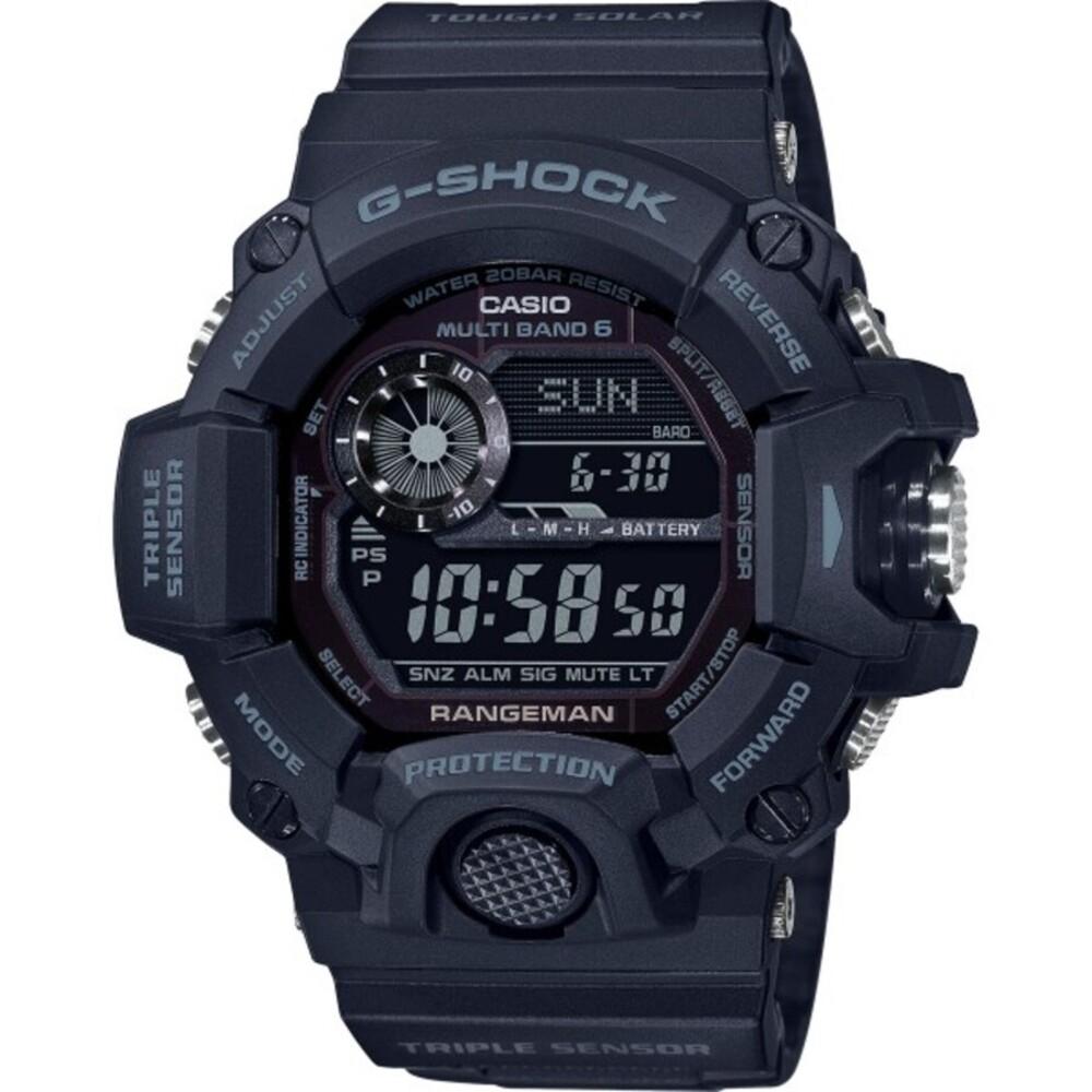 Casio G-Shock GW-9400-1BER Herren Uhr schwarz Quarz Digital