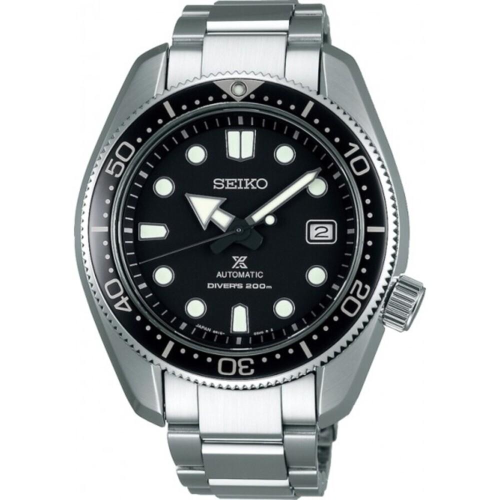 Seiko SPB077J1 Taucheruhr Diver Automatik 20 bar Prospex Edelstahl Herrenuhr