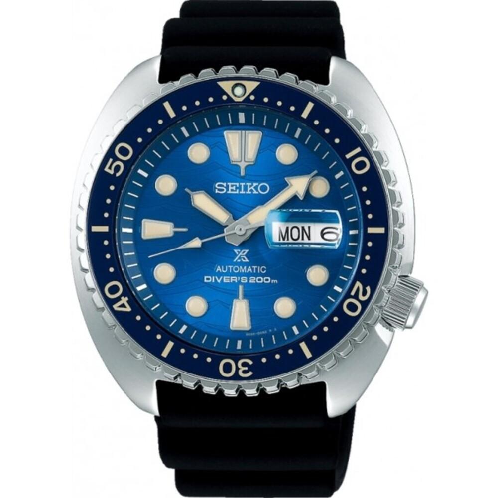 Seiko SRPE07K1 Prospex Turtle Diver Taucheruhr Automatik Safe the Ocean Special Edition 20 bar Herrenuhr