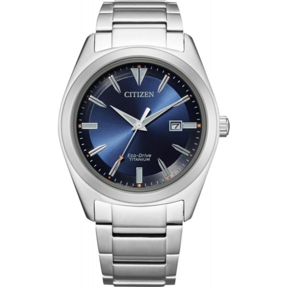 Citizen AW1640-83L Solar Unisexuhr Titan Mineralglas