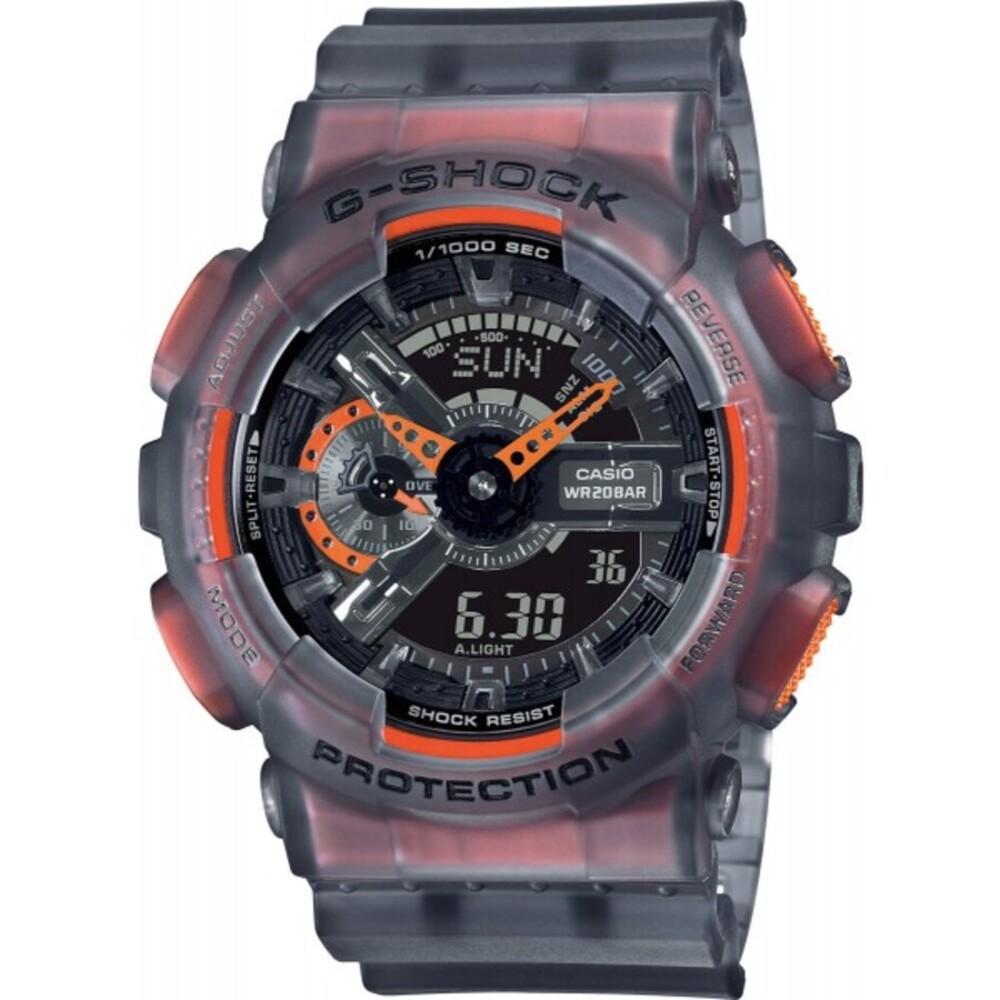 Casio G-Shock GA-110LS-1AER stoßfest wasserdicht weltzeitfunktion antimagnetisch
