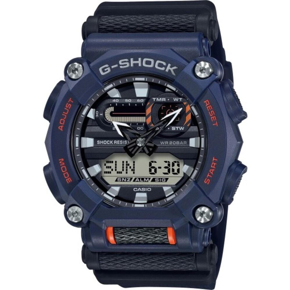Casio G-Shock GA-900-2AER quarzuhr weltzeit wasserdicht 20atm