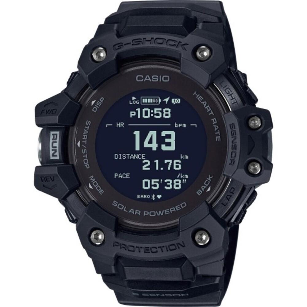 Casio G-Shock GBD-H1000-1ER schwarze Bluetooth Sport Taucher Uhr Smart Watch