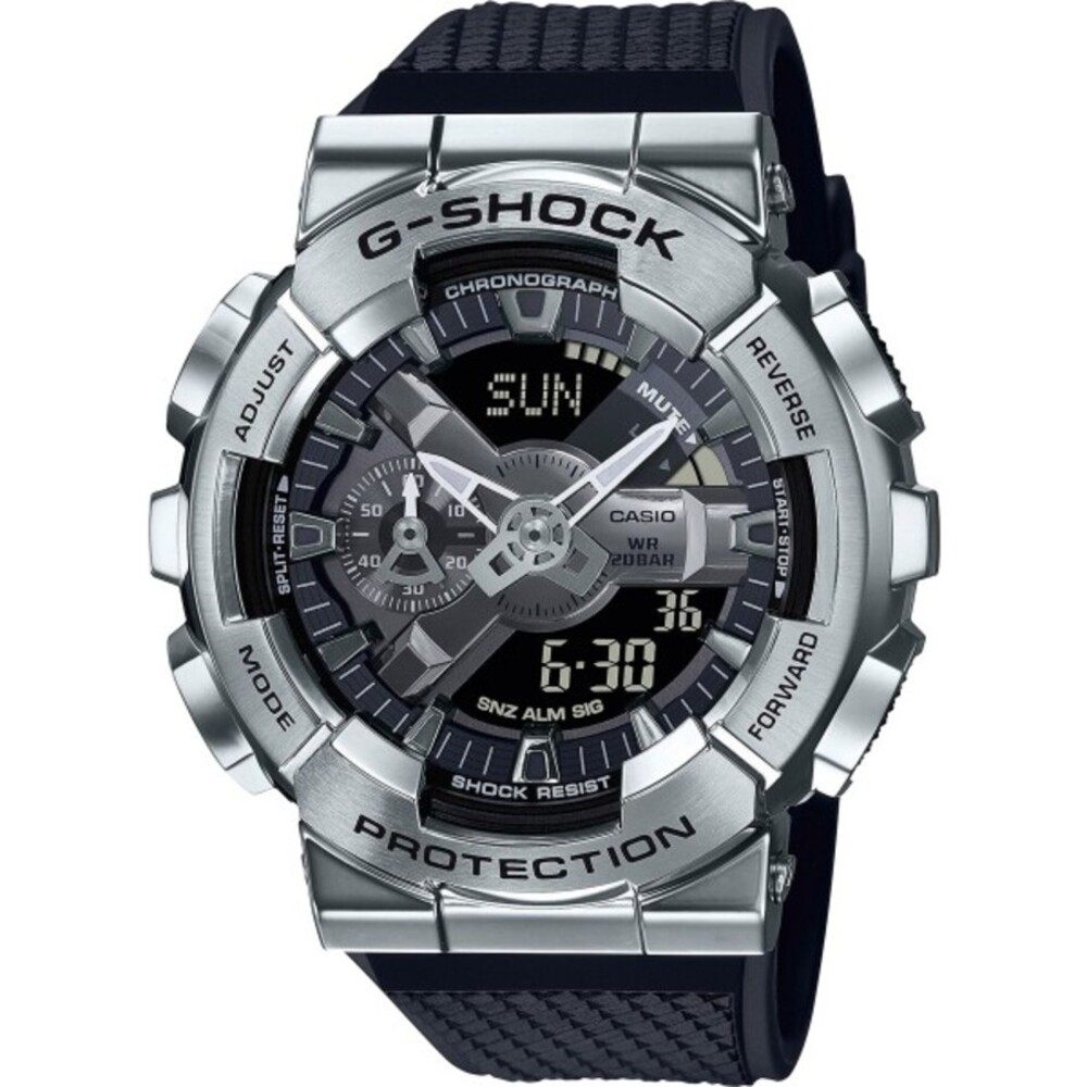 Casio G-Shock GM-110-1AER Digitaluhr Taucheruhr Stoppfunktion Alarmfunktion