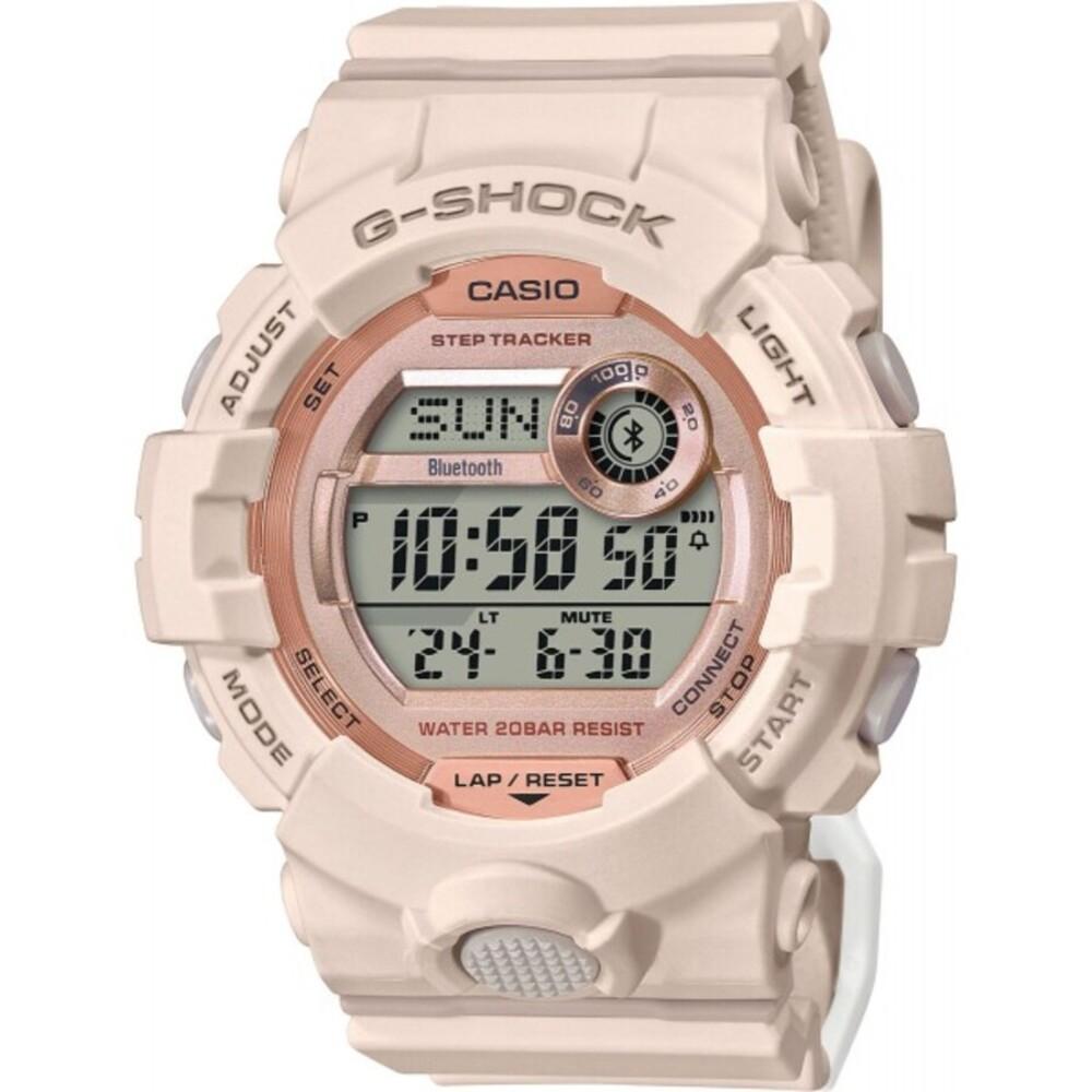 Casio G-Shock GMD-B800-4ER weiß pinke Damenuhr Taucheruhr Digitaluhr