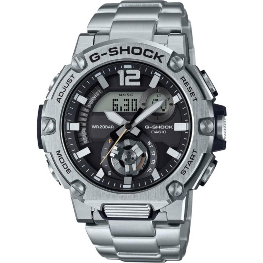 Casio G-Shock GST-B300SD-1AER Bluetooth Solartechnologie Chronograph Herrnuhr Edelstahl