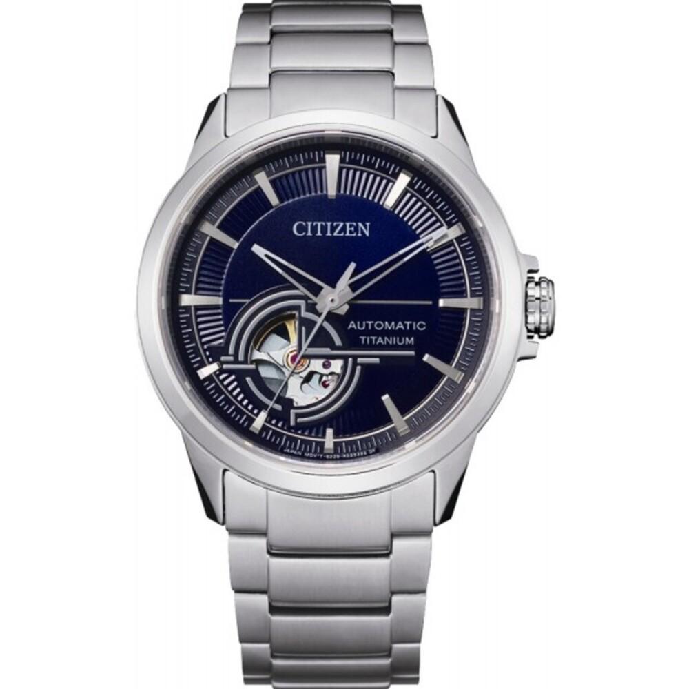 Citizen Uhr NH9120-88L Skelettierte Automatik Titan Herrenuhr