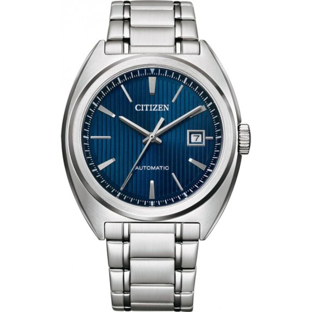 Citizen Uhr NJ0100-71L Automatikuhr Edelstahl Herrenuhr Blau