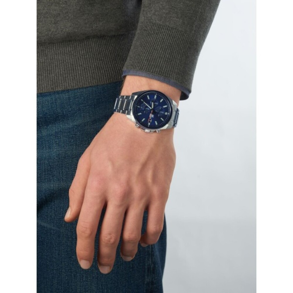 Casio Edifice Herren Uhr EFV-610DB-2AVUEF Edelstahl Blau