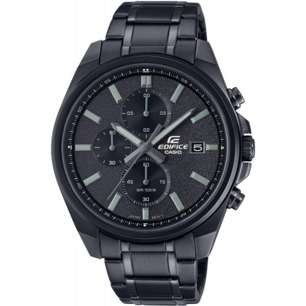 Casio Herren Uhr EFV-610DC-1AVUEF schwarz Edelstahl