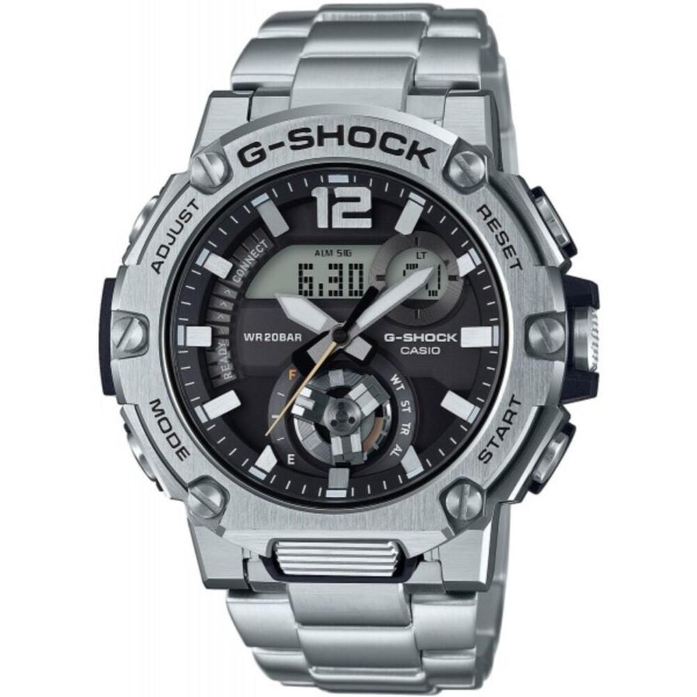 Casio G-Shock Herren Uhr GST-B300SD-1AER Edelstahl Bluetooth