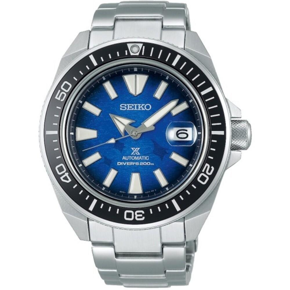 Seiko Prospex Save The Ocean SRPE33K1 Automatik Taucheruhr Edelstahl Saphirglas SPECIAL EDITION
