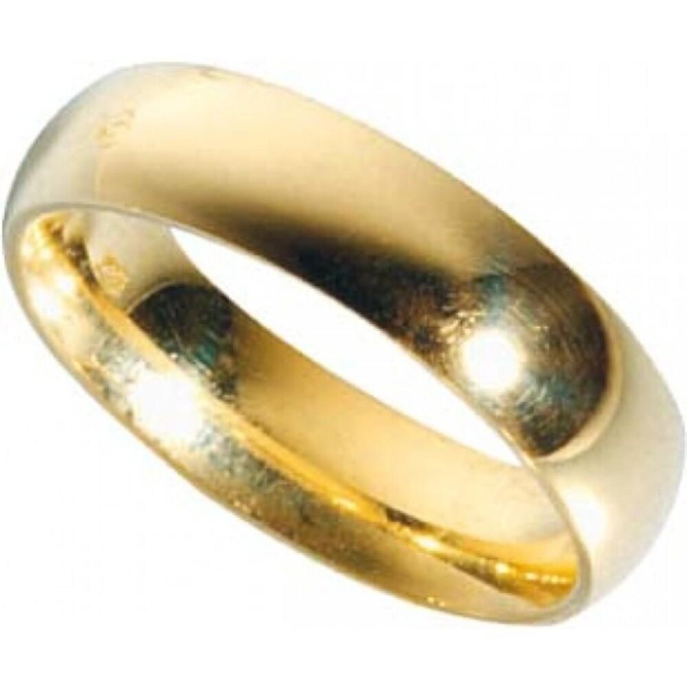 Trauring Gold 585 inklusive Gravur und Etui