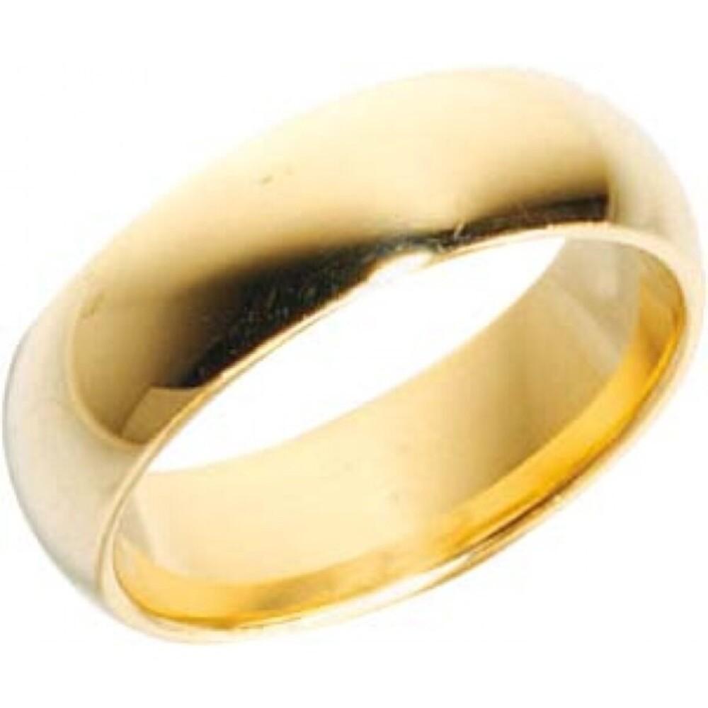 Trauring Gold 585 Breite 7,0 mm und Stärke 2,2mm