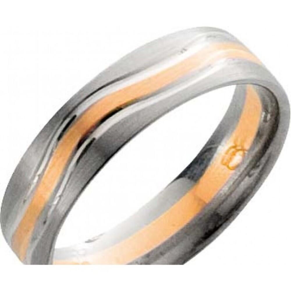 Trauring in Graugold 585/- / Roségold 585/-, Breite 6,0mm,Stärke 1,7mm. Die Gravur der Trauringe sowie das Etui erhalten Sie kostenlos dazu und bei diesen einfarbigen Trauringen - Eheringen ist auch der kostenlose Auffrischungsservice beinhaltet. Selbstve