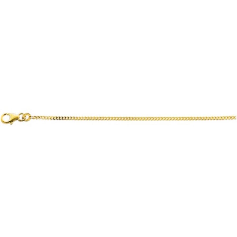 Kette in Gelbgold 333/- massiv, Stärke ca. 1,3mm. Erhältlich  in den Größen 36, 40, 42, 45, 50, 55 und 60cm. Premiumqualität von Deutschlands größtem Schmuckhändler Abramowicz aus Stuttgart.