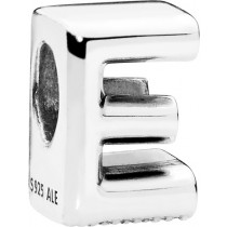 PANDORA Charms 797459 Alphabet Buchstabe E Silber 925