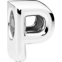 PANDORA Charms 797470 Alphabet Buchstabe P Silber 925