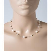 Perlenkette - Perlencollier Perlenreif  Sterling Silber 925 Süsswasserzuchtperlen_1