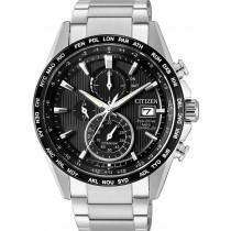 Citizen Uhren AT8154-82E Eco Drive Funkuhr Chronograph Super Titanium Herrenuhr
